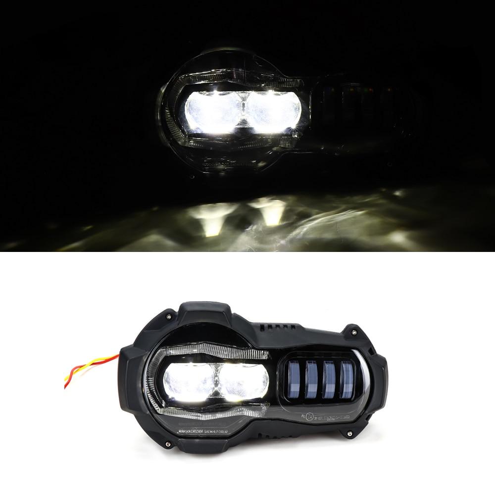 Nouveauté! projecteur de phares de Moto LED pour BMW R1200GS 2004-2012 R 1200GS ADV Adventure 2005-2013 - 3