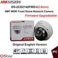Hikvision Оригинальная Английская Версия Камеры Наблюдения DS-2CD2142FWD-I (2.8 мм) 4MP WDR Фиксированная Купольная Ip-камера POE ВИДЕОНАБЛЮДЕНИЯ IP67 камера