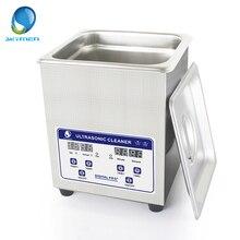 Skymen 2L 40kHz Stainless Steel Ultrasonic Cleaner Bath Digital w/Timed Heater Ultrasound Cleaning Tank
