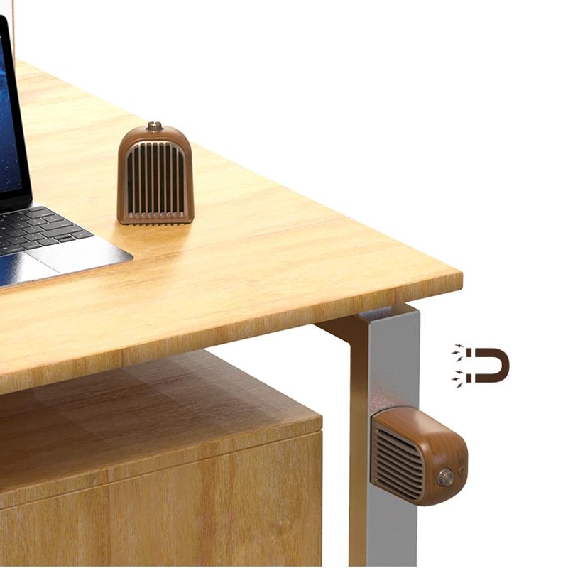 Gute 1 paar Retro massief houten ontwerp Magnetische afneembare Speaker Bluetooth 4.2 draagbare houten portatil caixa de som computer PC