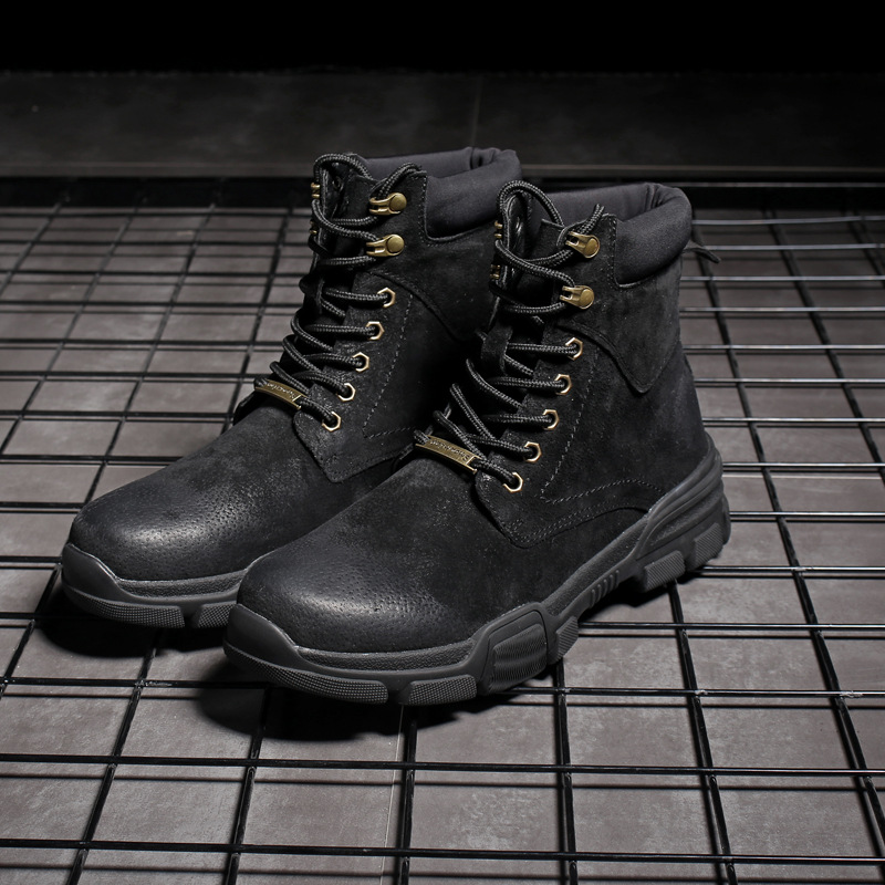 Spring Winter Men Military Boots Quality Special Force Tactical Desert Combat Ankle Boats Army Work Shoes Leather Snow Boots 48