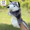 Fox two color hand puppet kids doll plush baby PUPPETS toys Christmas birthday gift Children Stuffed Toy
