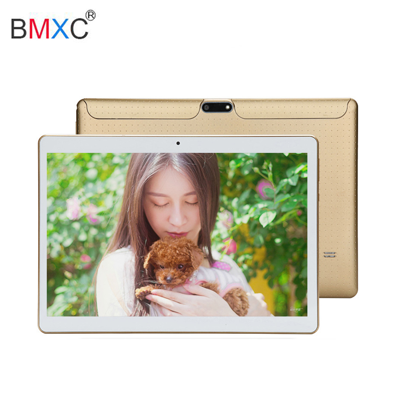 Hot 10.1 android tablet pc with Octa Core 3G Calling Phone 4GB RAM 32GB ROM support Wifi Bluetooth Dual SIM tablet 10 + Gift 2018 new 10 1inch tablet pc android 7 0 4 gb ram 32gb rom cortex a7 octa core camera 5 0mp wi fi ips telefoon tabletten pc