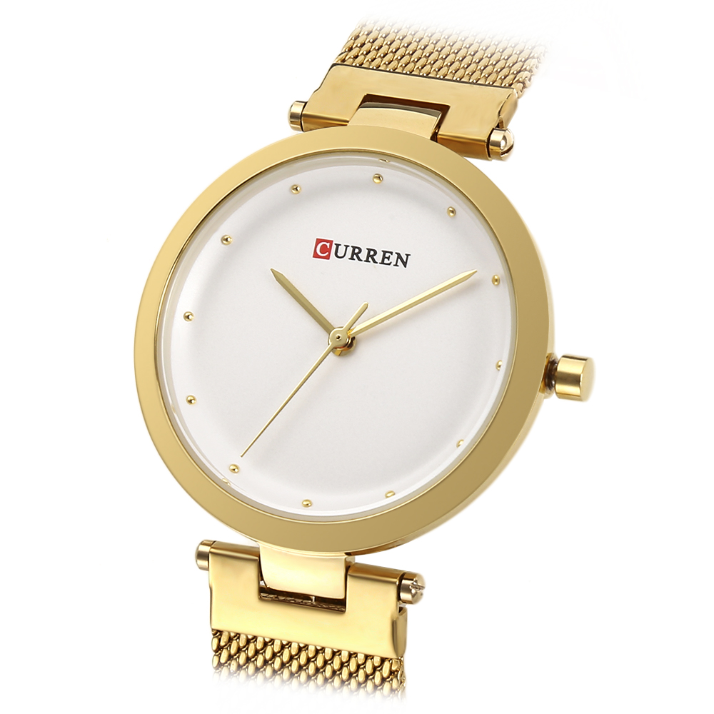 CURREN 9005 Luxury Women Watch Famous Brands Gold Fashion Design Bracelet Watches Ladies Women Wrist Watches Relogio Femininos wholesale drop shipping (17)