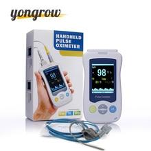 Yongrow Oximetro Pulse Oximeter De Pulso De Dedo Fingertip Pulse Oximeter Golden Color Pulsioximetro Oled Pulsmåler