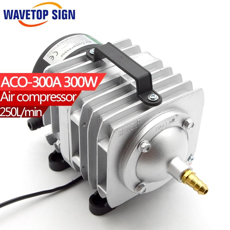 HAILEA Air Compressor ACO300A   0.04Mpa,250L/Min  300W 220v/50HZ 60HZ new resun aco 008 high quality 120w 0 110m3 min aquarium fish tank pond electromagnetic air compressor pump new