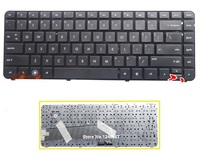 Brand New US Keyboard For HP DV4 3000 DV4 4000 Laptop Black Keyboard With Frame