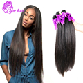 Peerless Brazilian Virgin Hair Straight 4 Bundles Silk Straight Hair 18 20 - 28 inch Unprocessed Brazilian Virgin Hair Straight