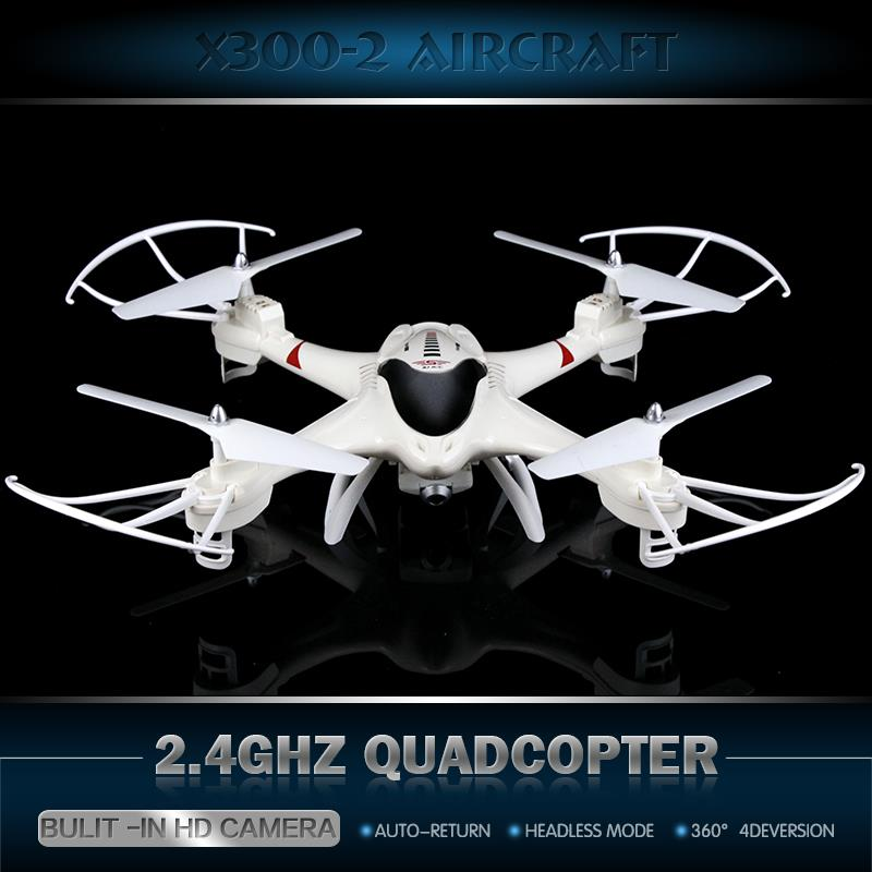 Best Christmas Gift  Original Upgrade X300-2 RC DRONE 4CH Remote Control RC Helicopter Quadcopter  With Camera VS U919A RC DRONE original rc aircraft drone yd a9 2 4g 6 aixs gyro 4ch remote control helicopter quadcopter with 2mp camera vs jd509g rc drone