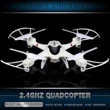 Meilleur Cadeau De Noël D'origine Mise À Niveau X300-2 RC DRONE 4CH Télécommande RC Hélicoptère Quadcopter Avec Caméra VS U919A RC DRONE