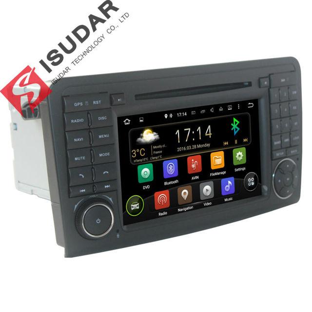 2 Din 7 Дюймов Android 5.1.1 Dvd-плеер Автомобиля Для Mercedes/Benz/GL ML КЛАСС W164 ML350 ML500 X164 GL320 Canbus Wi-Fi GPS BT радио