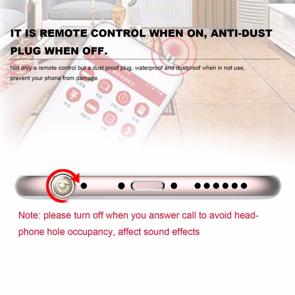 Universal Infrared Ir Remote Control 35mm Anti Dust Plug Transmitters Transmitter Home Appliances Controller For Iphone In Controls From Consumer