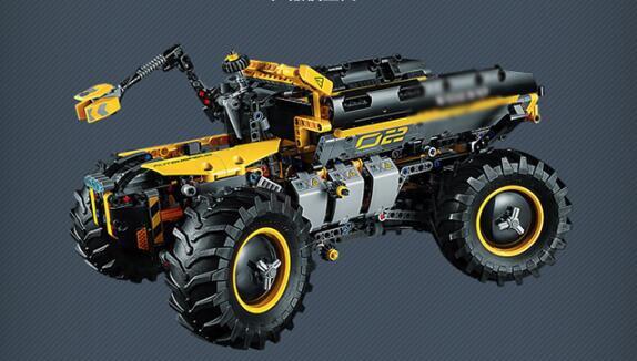 Technologie de Legoings Compatible Volvo Concept chargeuse sur pneus ZEUX modèle blocs de construction briques Kits jouets - 4