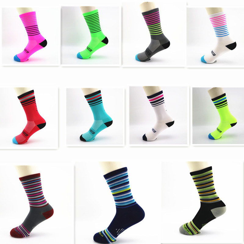 2019 New Men Women Sport Running Socks Outdoor Riding Cycling Camping Hiking Socks Breathable 40-44