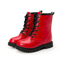 Girls Winter Leather Shoes