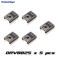 5 Pcs DRV8825 Stepper Motor Driver For 3D Printers