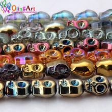 Стеклянные кристаллы olingart 10 мм 16 шт/лот цветные бусины