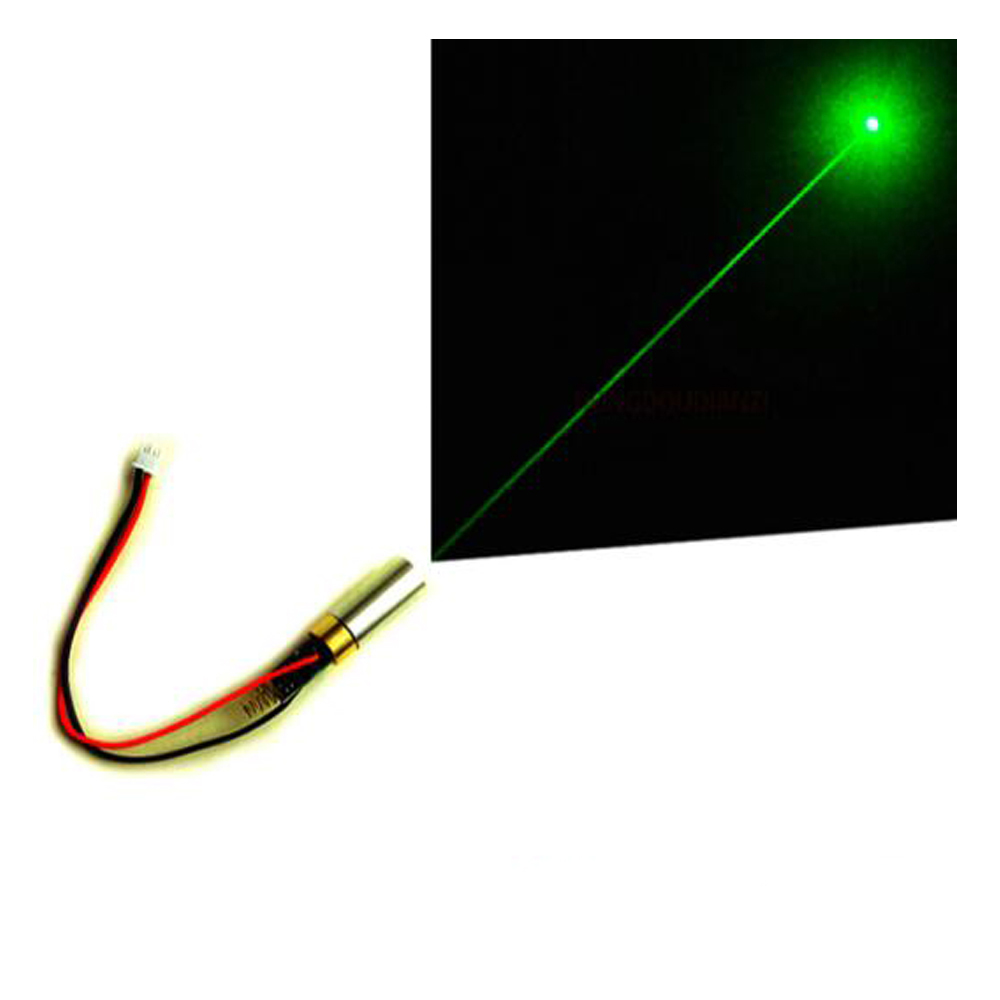 12mW 532nm 2.8V-3.7V Green Laser Module Point Stage Tube Dot Positioning