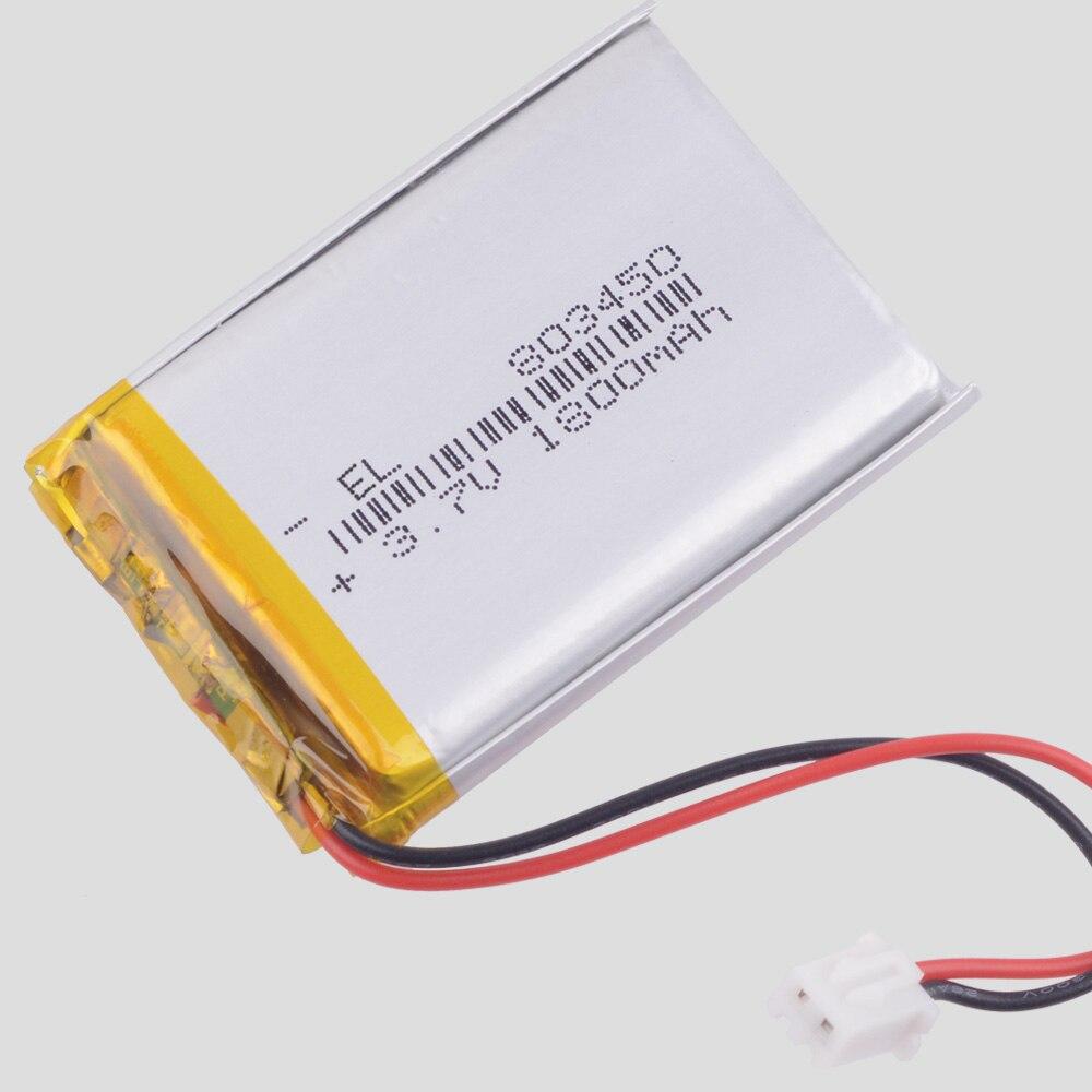 3.7V,1800mAH,[803450] PLIB; Polymer Lithium Ion / Li-ion Battery For GPS,mp3,mp4,mp5,dvd,bluetooth,model Toy