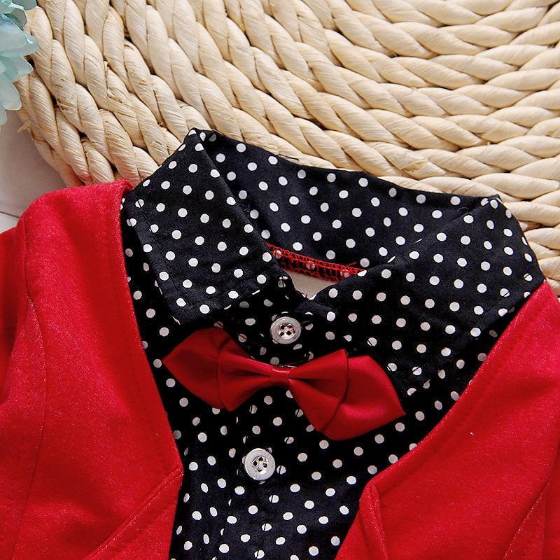 Conjuntos de ropa para niños Nuevo 2016 Primavera Estilo británico - Ropa de ninos - foto 6