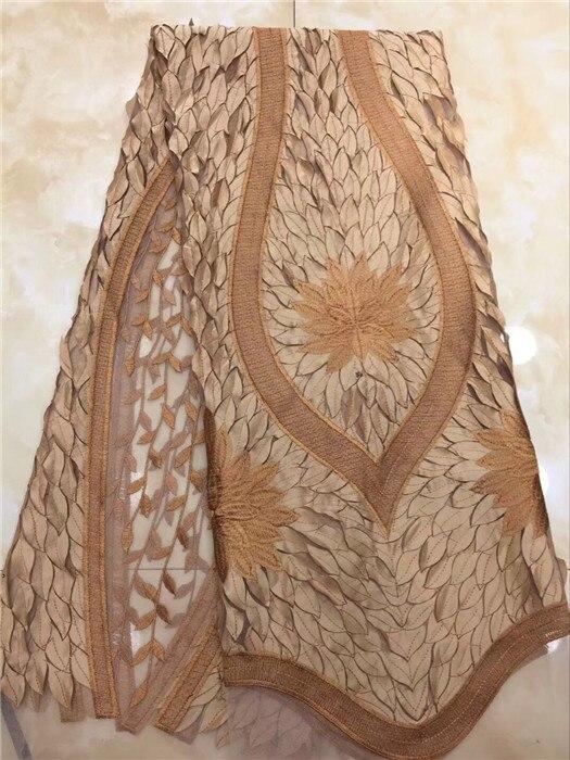 Maravillosa tela de encaje de tul de Mujer Africana tela de encaje de red francesa para hacer vestido de fiesta PNZ722 (5 yardas/lote)-in encaje from Hogar y Mascotas    1