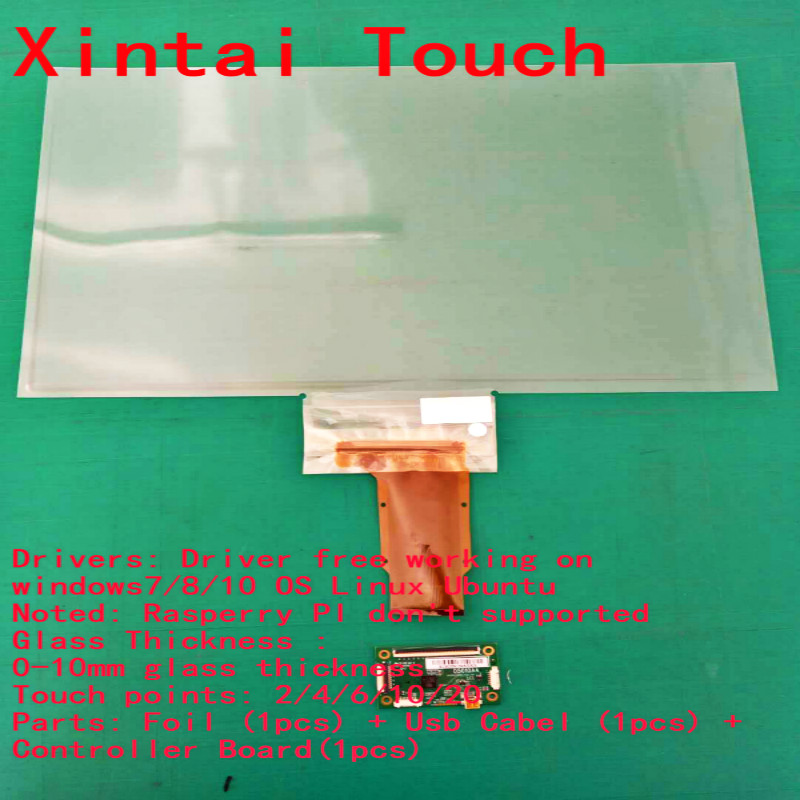 15 inch smart film, sensor film, dual touch foil for glass touch screen dual touch v102