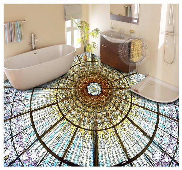 Tile Decor Store: Customized 3d Wallpaper 3d Floor Painting Wallpaper 3 D