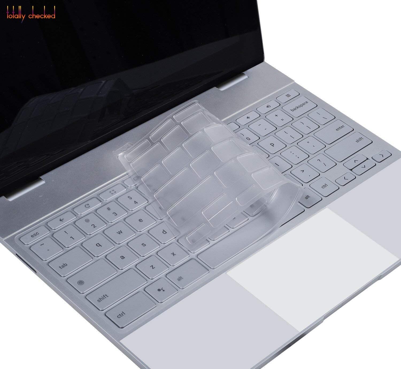 Чехол для клавиатуры ноутбука, Обложка для Google Pixelbook, сенсорный экран 12,3 дюйма, планшет Chromebook 2017, выпущен макет США