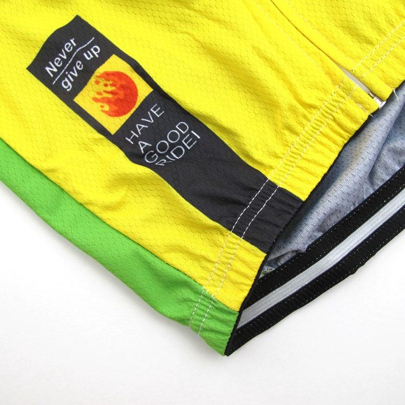 Ropa Cycling Jersey Ciclismo դիզայն BRAZIL- ի հետ logo - Հեծանվավազք - Լուսանկար 4