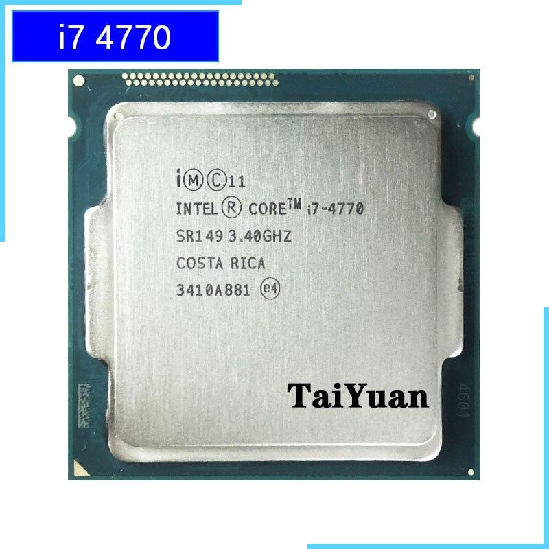 Intel Core I7-4770 I7 4770 3.4 GHz Quad-Core CPU Processor 8M 84W LGA 1150