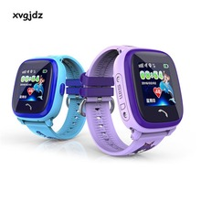 xvgjdz IP67 Waterproof SIM Smart Watch Touch Screen GPS SOS Locator Tracker Anti-Lost Kid Smartwatch Child Guard for iOS Android