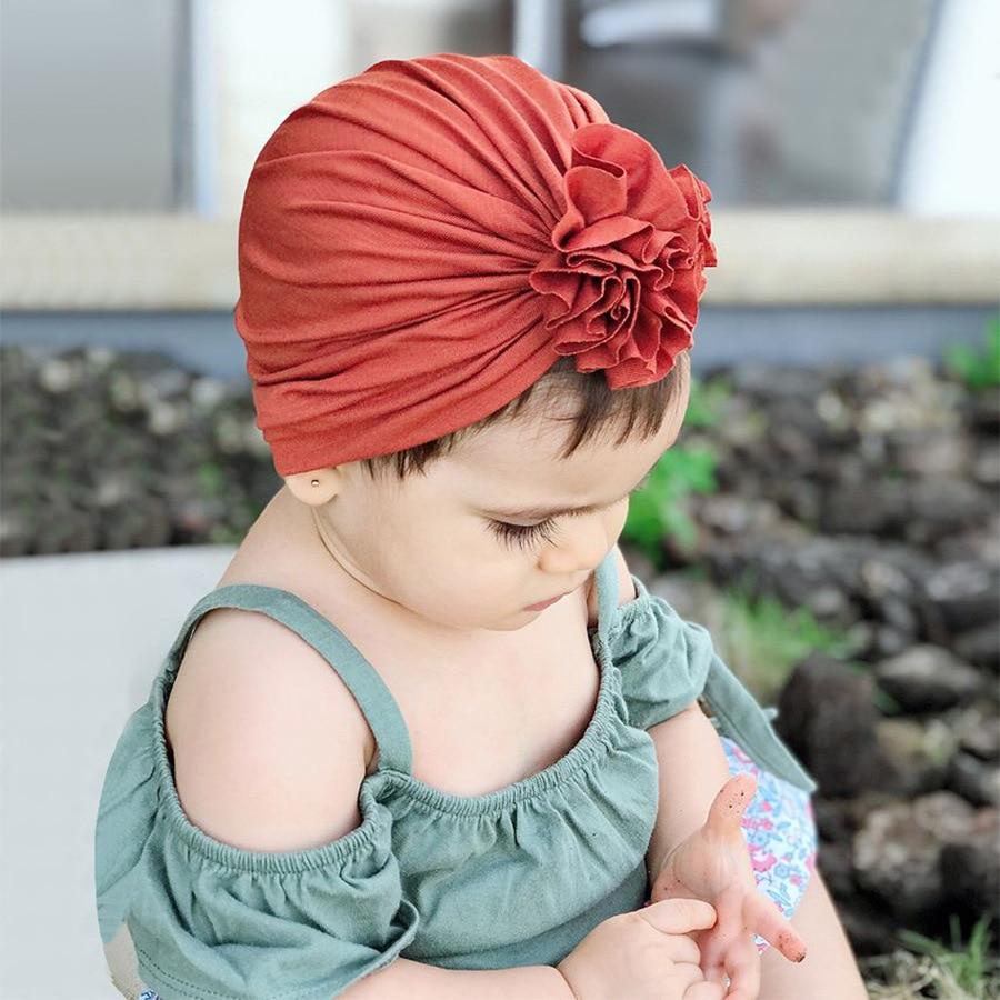 Baby Flower Turban