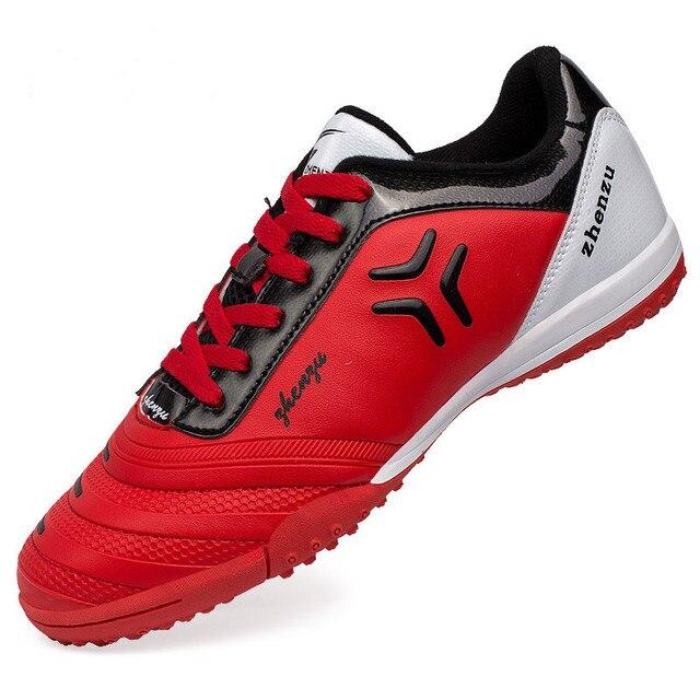 ZHENZU chuteira futebol Homens Crianças Botas De Futebol Superfly Chuteiras  de Futsal Originais Sapatos Sneakers soccer 5af02295f2592