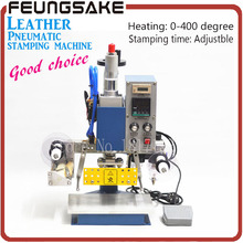 Pneumatic Stamping Machine 13*10,leather printer,Creasing machine,hot foil stamping machine,marking press,embossing machine 220v