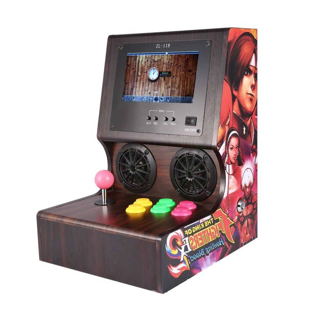 7/9 inch Professional Family Classic Mini Arcade Machine Home Party Vintage Arcade Game Vending Machine Game Console Controller high quality coin operated slot machine for toys vending cabinet capsule vending machine big bulk toy vendor arcade machine