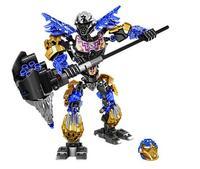 XSZ 611 2 Biochemical Warrior BionicleMask Of Light Onua Earth Building Block Children Gifts Bionicle 71309