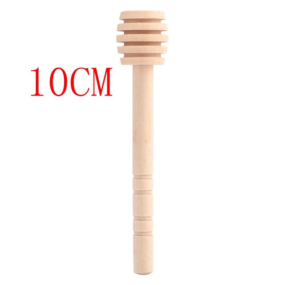 wooden honey spoon