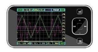 "Freeshipping ARM DSO Nano dso201, Pocket-Sized Digital Oscilloscope with 2.8"" TFT LCD Module"
