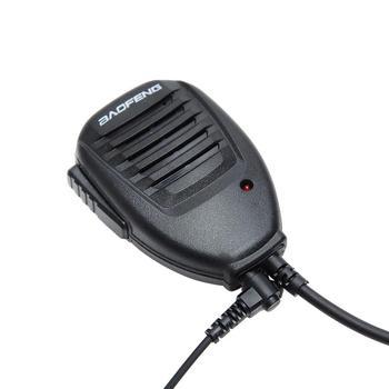 Original baofeng handheld microphone speaker mic for baofeng walkie talkie portable 2 way radio uv-5r bf-888s uv-5r accessories