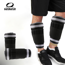 1 KG=1Pair Adjustable Ankle Leg Weights Straps Strength Training Exercise Gym Running Fitness Equipment