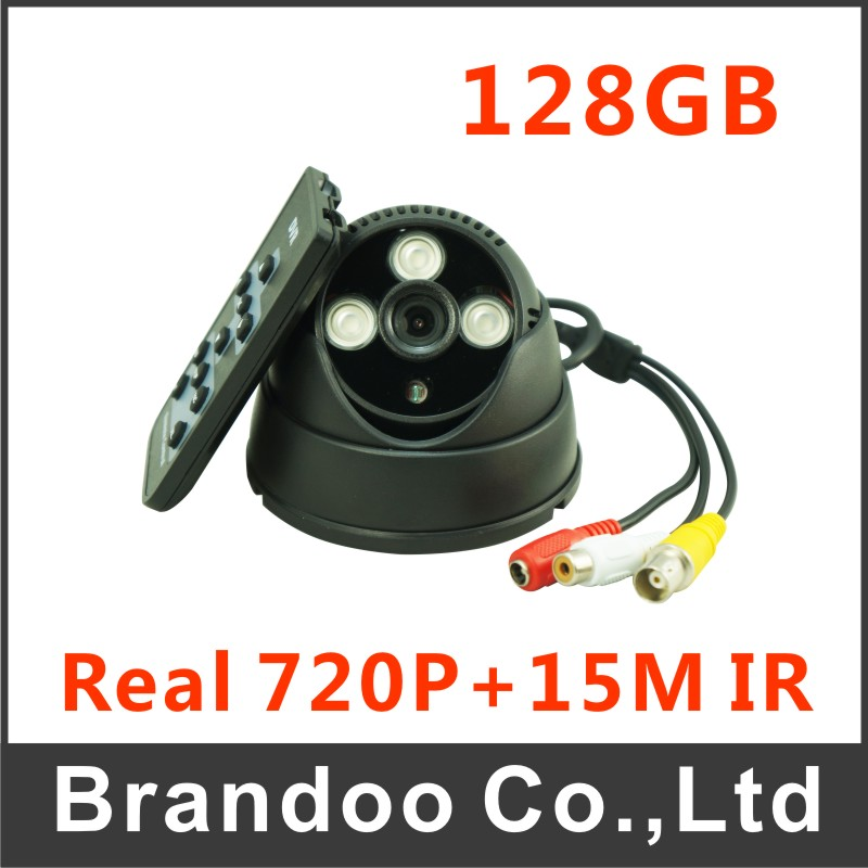 Motion detection SD camera support 128GB for long time recording BD-401HD