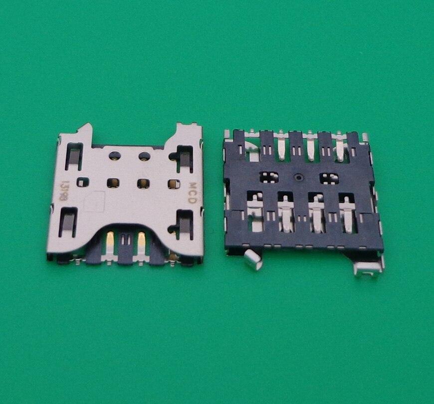 2pcs SIM Card Reader Holder Tray Slot For Blackberry Q10 Z10 sim card reader socket