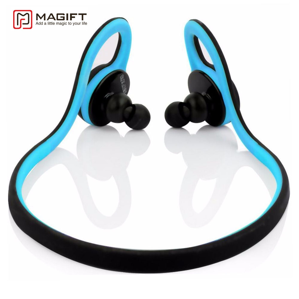 Magift HV-600 Neckband Wireless Bluetooth Earphone HandsFree Sports Headset headphone with Microphone for mobile phone free shipping hv 600 fashion wireless bluetooth earphone handfree sport stereo headset headphone for mobile phone hv600