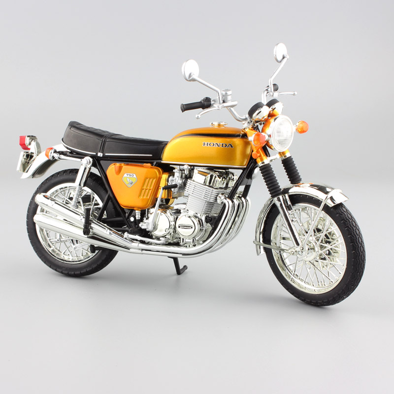 1:12 Scale Mini HONDA DREAM CB750 FOUR Motorcycle Die