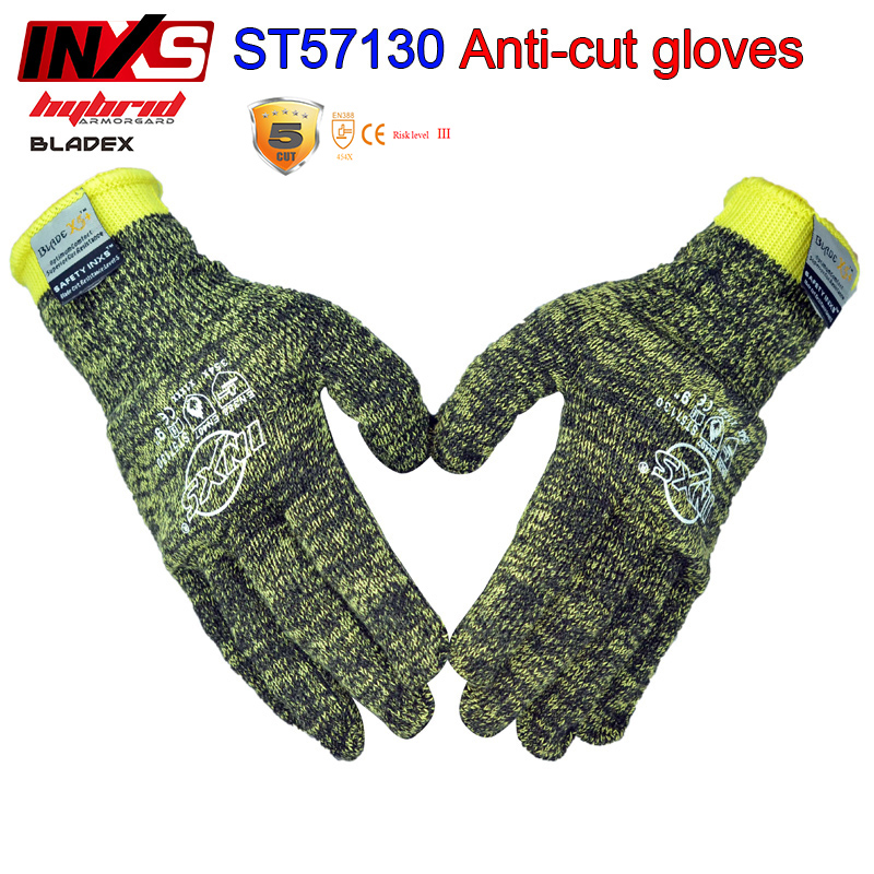 цена SAFETY-INXS Anti-cut gloves ST57130 Flame retardant Level 5 Cut resistant gloves camouflage Breathable cut proof gloves