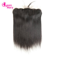 Fashion Leader Brazilian Straight Hair Lace Frontal Closure 13x4 With Baby Hair Free Part Non