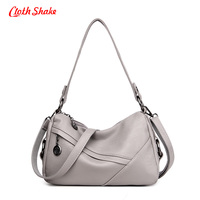 Cloth Shake Brand Summer New Fashion Crossbody Bags Single Shoulder Bags Ladies PU Leather Bags Women
