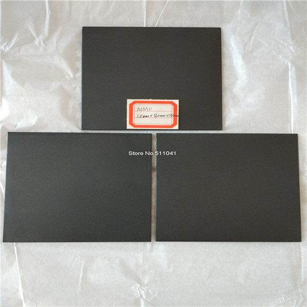 MMO coated Gr1Titanium anode sheet plate Hot Sale,1.5mm*100mm*100mm,free shipping Paypal is available купить