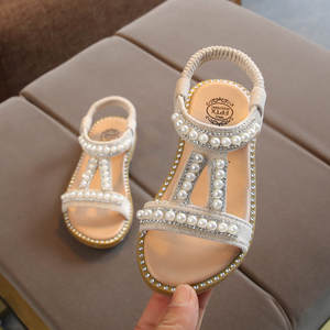 Shoe Toddler Baby-Girls New Princess Crystal Pearl Zapatos Infant Roman Kids Casual Fashion