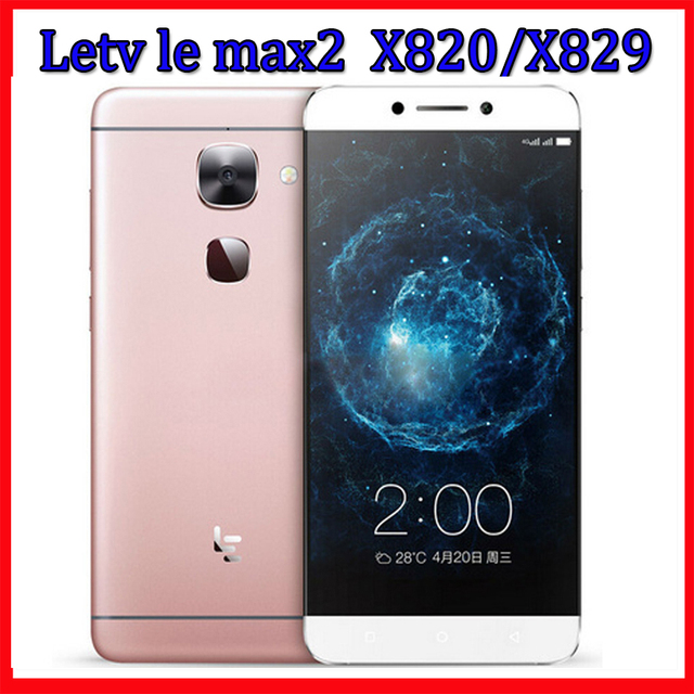 US $117 7 25% OFF|Original Letv leEco Le Max 2 X820 X829 Snapdragon 820 4G  LTE Mobile Phone 4G RAM 32G/64G ROM Quad Core Camera 21 0M -in Mobile